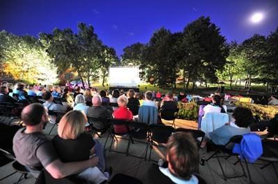Open-Air-Kino im Bad