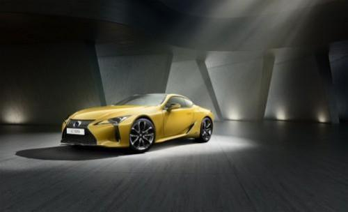 Lexus LC als exklusive Yellow Edition