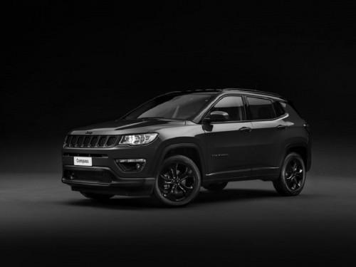 Attraktives Sondermodell Jeep® Compass Night Eagle im mystischen Dark Look