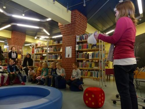 BücherRasselbande in der Kinderbibliothek am 28. Mai