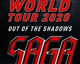SAGA Out of The Shadows World Tour 2020
