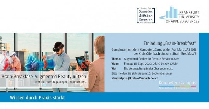Brain-Breakfast zu Augmented Reality